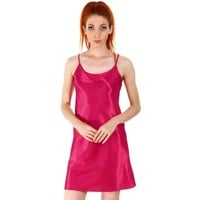 Women's Sexy Sleepwear Satin Nightgown Silk Chemise Slip Dress,Rose, S - Walmart.com