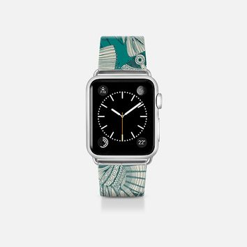 fish mirage teal apple watch band Apple Watch Band (38mm) by Sharon Turner | Casetify