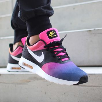 NIKE AIR MAX TAVAS SD (BLACK / WHITE - PINK POW - TRUE YELLOW)
