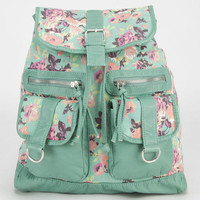 T-Shirt & Jeans Fiona Floral Rucksack Mint One Size For Women 23506752301