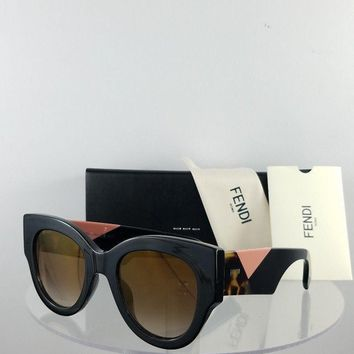 Brand New Authentic Fendi FF 0264/S Sunglasses 807JL Black 51mm Frame 0264