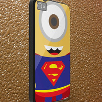 superman minion - iphone case cover- iPhone 4 / iPhone 4S / iPhone 5 / Samsung S2 / Samsung S3 / Samsung S4 Case Cover (AF )