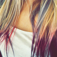 DIY Temp. Hair Color, Chalk - Dip Dye, PICK A COLOR
