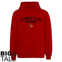 Illinois State Redbirds Team Arch Big and Tall Sweatshirt - Red
