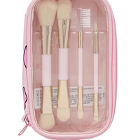 Cosmetic Brush Set & Case