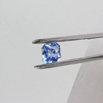 Radiant Cut Ceylon Blue Sapphire 1.81cts Loose Faceted Gemstone for Engagement Ring Weddings Anniversary Gift for Her