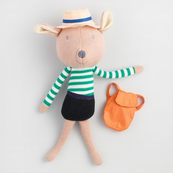 Travel Buddies Knit Plush Deer