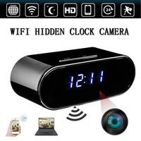Wireless WiFi 1080P HD infrared Night Vision Security Alarm Clock Motion Security Cam DVR Video Recorder Nanny Cam DV Camcorder Sound App Realtime Audio Remotely Monitoring - Walmart.com