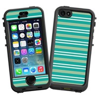 """Striped Ocean """"Protective Decal Skin"""" for LifeProof nuud iPhone 5s Case"""