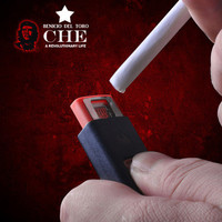 USB No Fire Windproof Cigarette Lighter-Guevara Commemorative Edition from The Geek Heaven