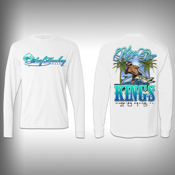 SurfMonkey King of Kings - Performance Shirts - Fishing Shirt - Kingfish