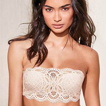 Crochet Lace Strapless Bralette - Dream Angels - Victoria's Secret