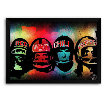 Red Hot Chili peppers  Matte Framed Poster