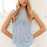 Cut-In Tank Top-