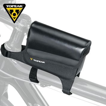 """TOPEAK Bicycle Front Top Tube Bag Waterproof Cycling Bike Frame Saddle Package For Mobile Phone Up To 6 """" Bike Accessories"""