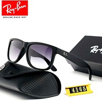 Ray-Ban 2019 new men and women models large frame retro polarized colorful sunglasses #1