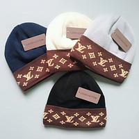 LV Women Knitting Cap