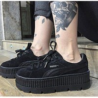 Rihanna x PUMA Fenty Creeper Leather Black