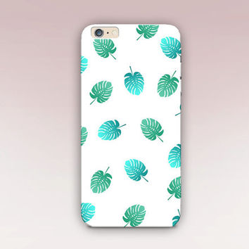Summer Leaves Phone Case  - iPhone 6 Case - iPhone 5 Case - iPhone 4 Case - Samsung S4 Case - iPhone 5C - Tough Case - Matte Case - Samsung