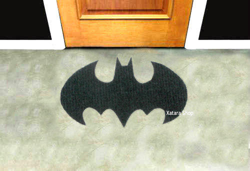 Batman Sign Rug Shape Doormat Custom From Xatara On Etsy