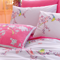 Oriental Birds Cushion | Multi | Accessorize
