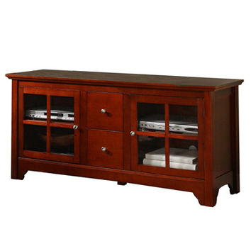 Built to last Wood TV Console with Drawers by Walker Edison