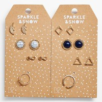 Junior Women's BP. Stud Earring & Ring Set