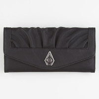 Volcom On The Fritz Wallet Black One Size For Women 21582010001