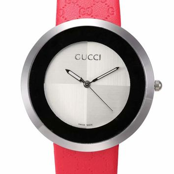 Gucci watches men's and women's fashion watches B-CTZL Red