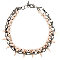Pearl And Spike Choker Necklace | Joomi Lim | BySymphony