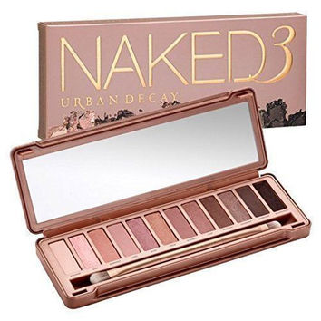 NAKED 12 colors Professional Makeup Eyeshadow naked Palette 1 2 3 4 5, NK cosmetic eye shadow case Make up Set
