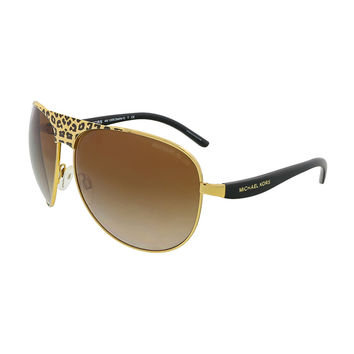Michael Kors Black/Gold Wrap Sunglasses