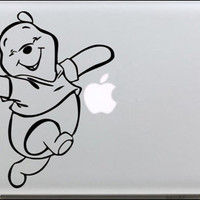 Winnie the Pooh 2 Mac decals Macbook sticker Macbook pro decal Macbook air decal Aappl decal sticker