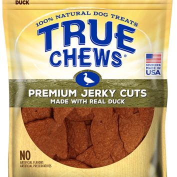 True Chews Premium 100% Jerky Cuts Duck