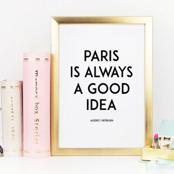 Best Paris Wall Quotes Products On Wanelo