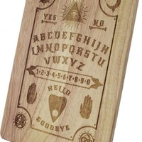 Wooden Engraved Ouija Chopping Board| SERVING BOARD