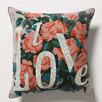 Anthropologie - Live Love Pillow
