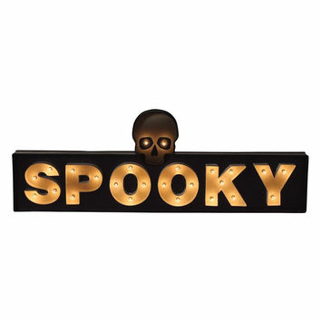 Spooky Marquee Sign