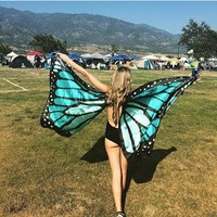 Butterfly Wings- Blue
