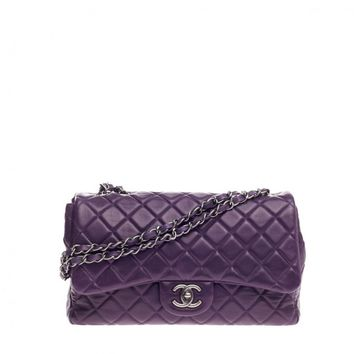 Chanel Classic Single Flap Quilted Lambskin Jumbo