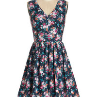 ModCloth Mid-length Sleeveless A-line Flutter and Flicker Dress