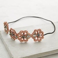Posy Chain Headband by Deepa Gurnani Pink One Size Hair