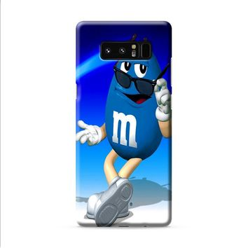 M&M's Blue Candy Samsung Galaxy Note 8 case