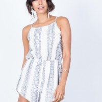Right Direction Geo Romper