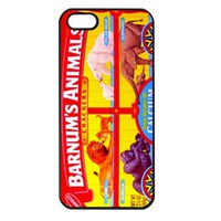 Barnum's Animal Cracker Box Apple Iphone 4/4s case