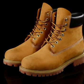 2016 Fashion Classic 10061 Wheat Yellow TBL Boots Women Mens Retro Waterproof Outdoor Work Sports Shoes Casual Sneakers Size 36-44