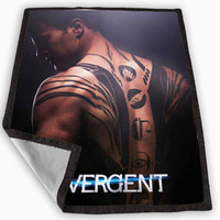 Theo James Divergent Blanket for Kids Blanket, Fleece Blanket Cute and Awesome Blanket for your bedding, Blanket fleece *