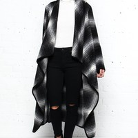 Shoot The Breeze Plaid Coat