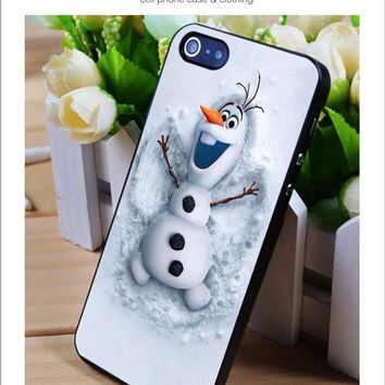 Olaf iPhone for 4 5 5c 6 Plus Case, Samsung Galaxy for S3 S4 S5 Note 3 4 Case, iPod for 4 5 Case, HtC One for M7 M8 and Nexus Case