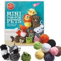 Mini Pom-Pom Pets in Art & Craft Supplies